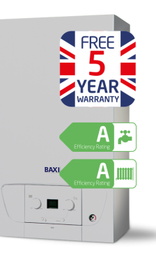 Baxi 400 Combi LPG overview - <span>28kW</span>