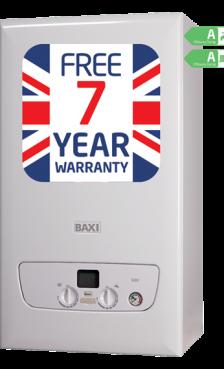 Baxi 636 Combi LPG overview - <span>36kW</span>