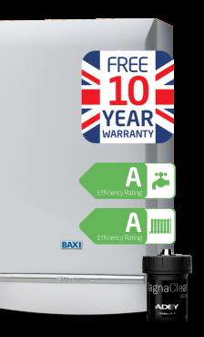 Baxi Platinum Combi+ 40kW overview